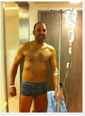בוקר לאחר הניתוח הניתוח