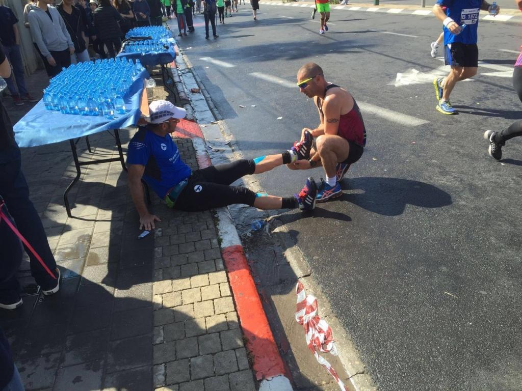מרתון תל - אביב 2016