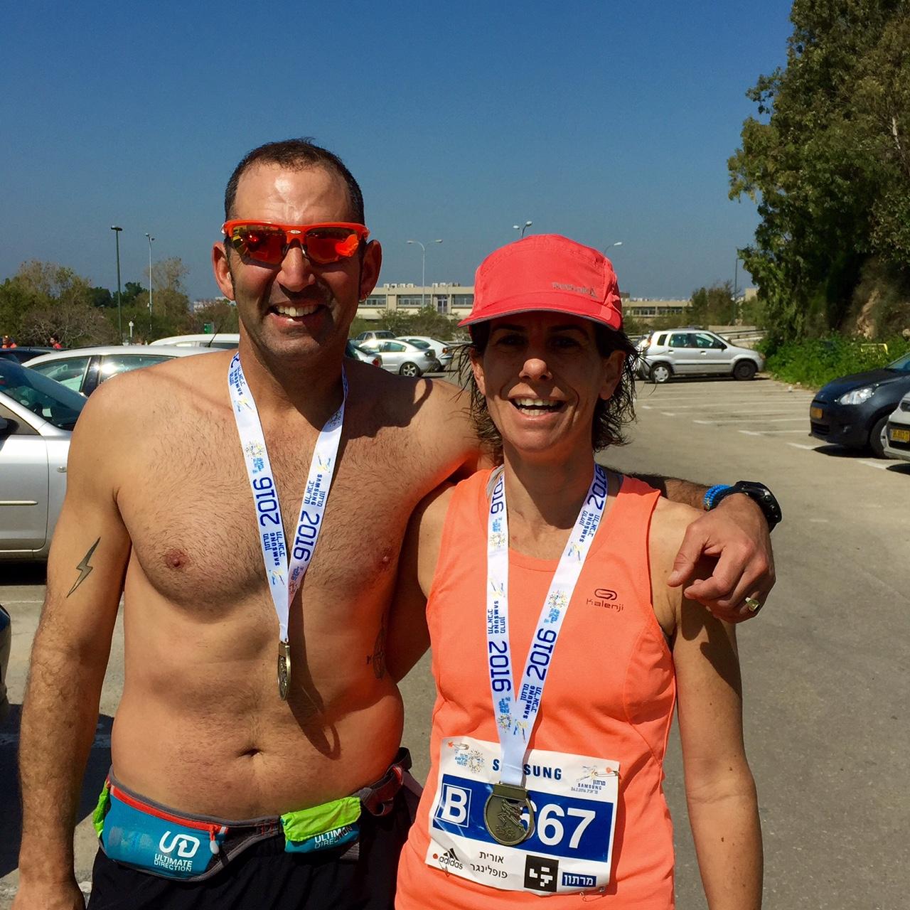מרתון תל - אביב