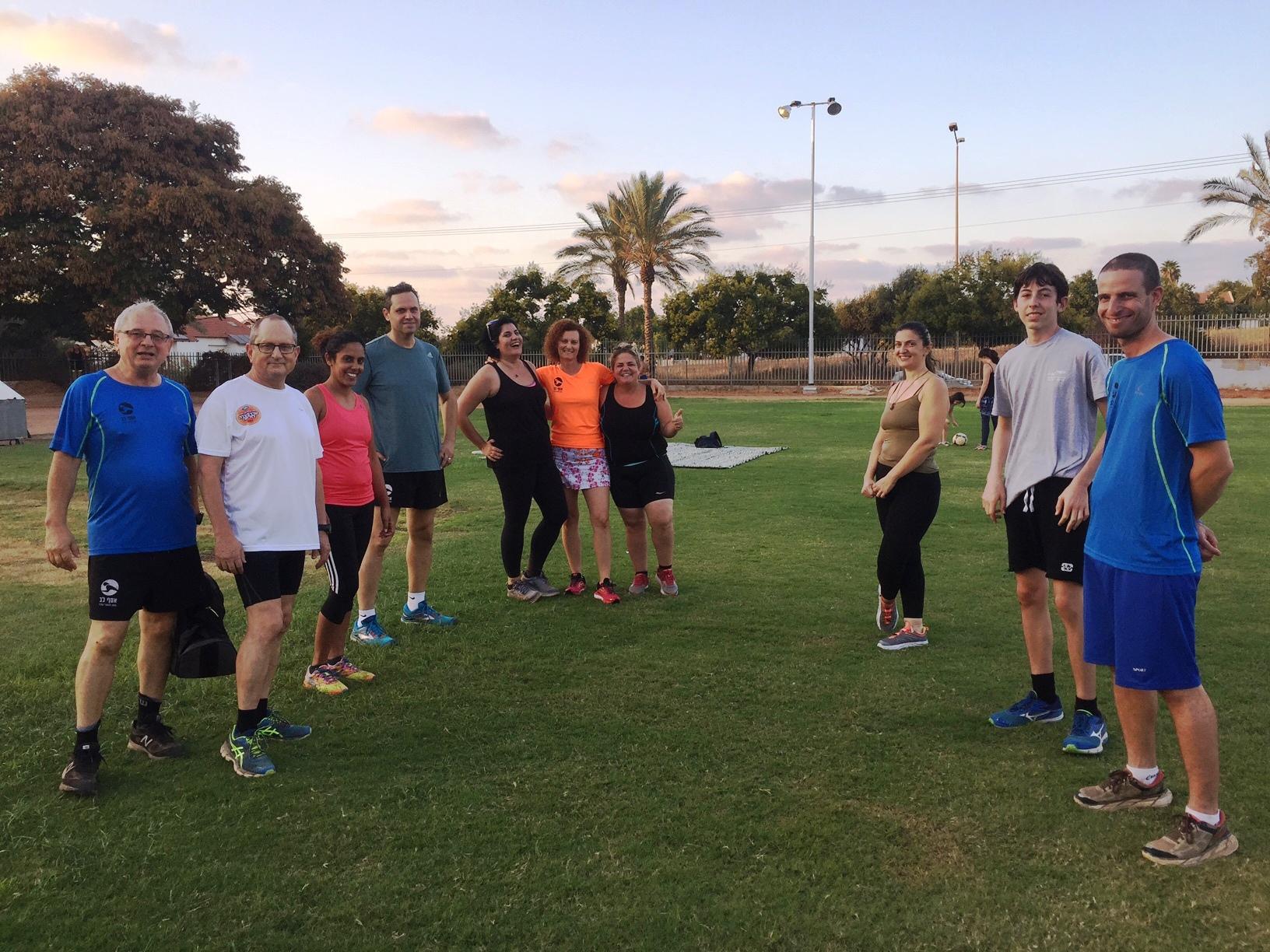 קבוצת ריצה - רצים עם אסף