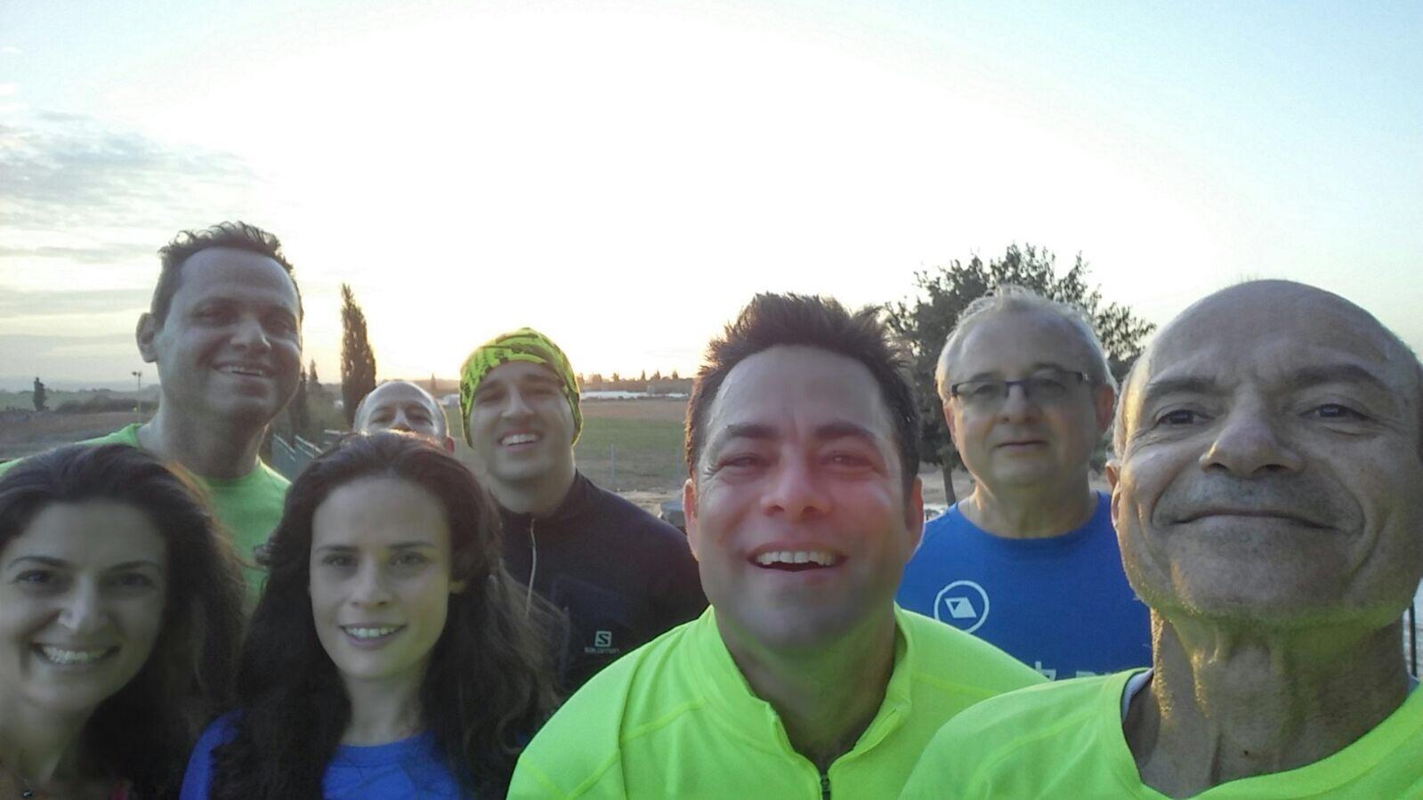 """קבוצת ריצה בכ""""ס הירוקה"""