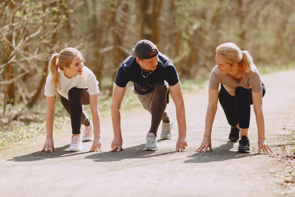 קבוצת ריצה מקסימה: רצים עם אסף