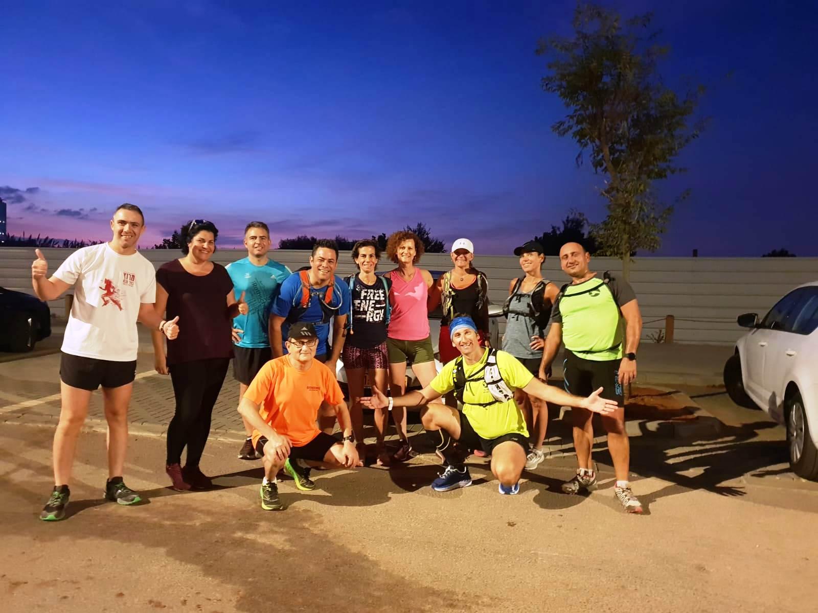 רצים עם אסף - אימון שישי בוקר