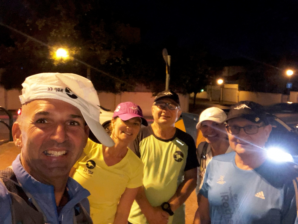 אימון ערב - רצים עם אסף