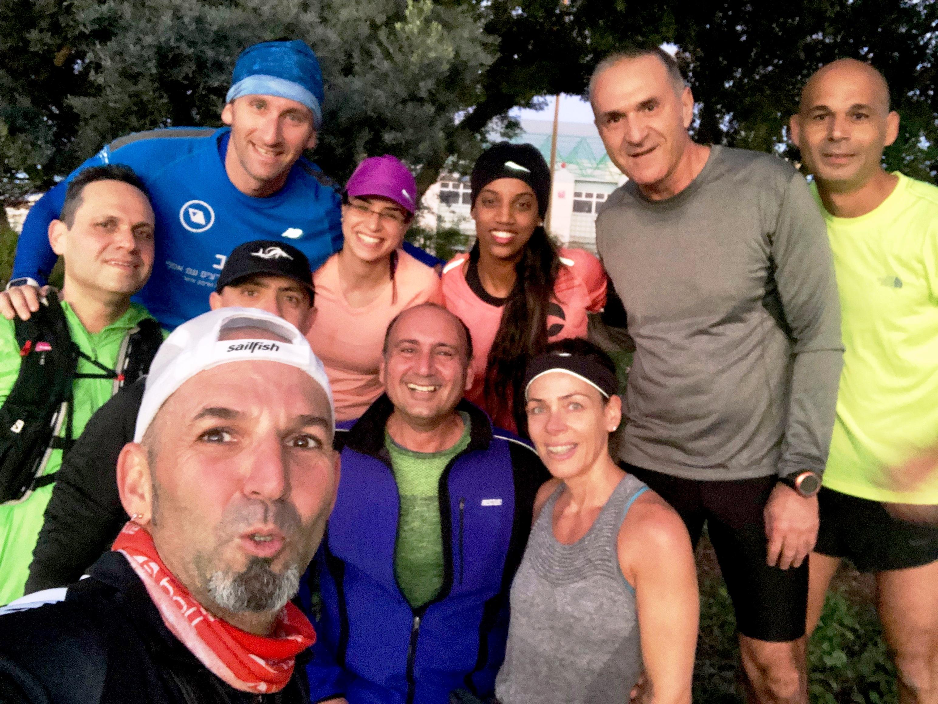 קבוצת ריצה בכפר סבא