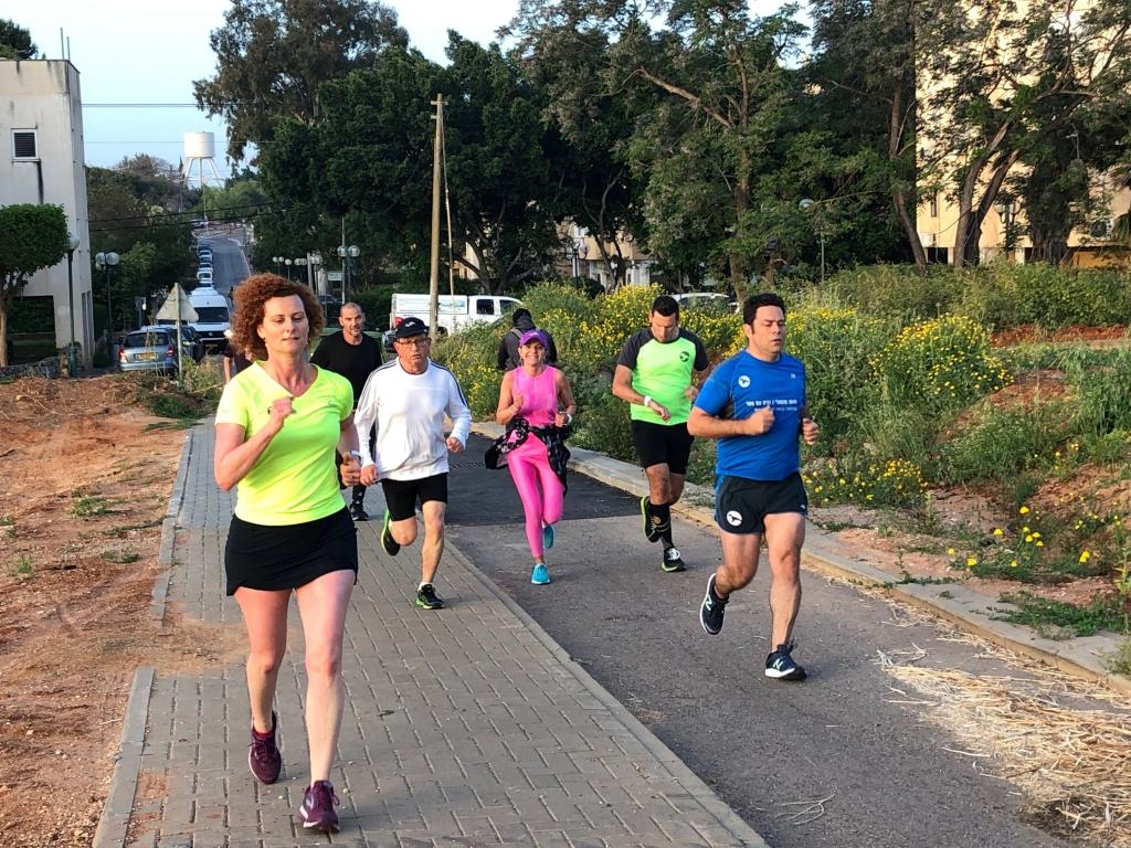 רצים עם אסף - קבוצת ריצה יפה!