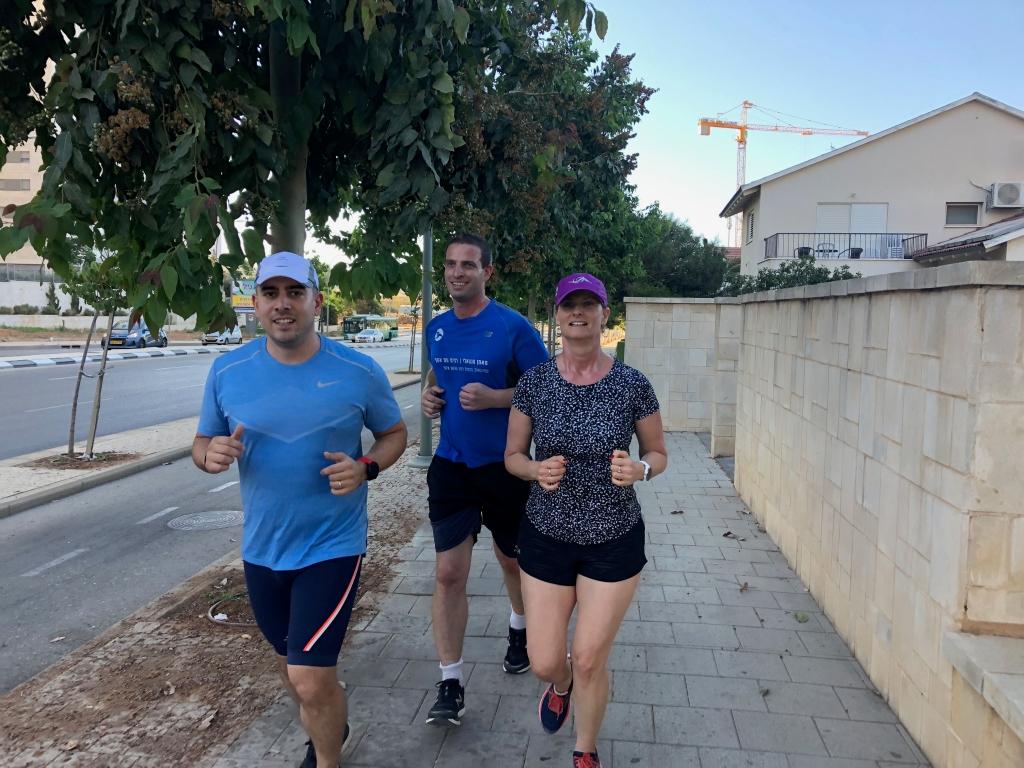 קבוצת ריצה - אימון הערב