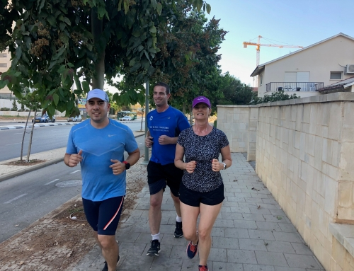 """המגזין! ריצה ואיכות חיים – אסף לב / 7 ליולי """"באוויר"""""""