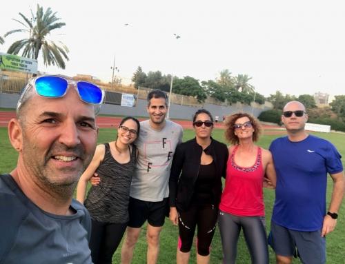 ריצה ואיכות חיים! אסף לב – 13 במאי!