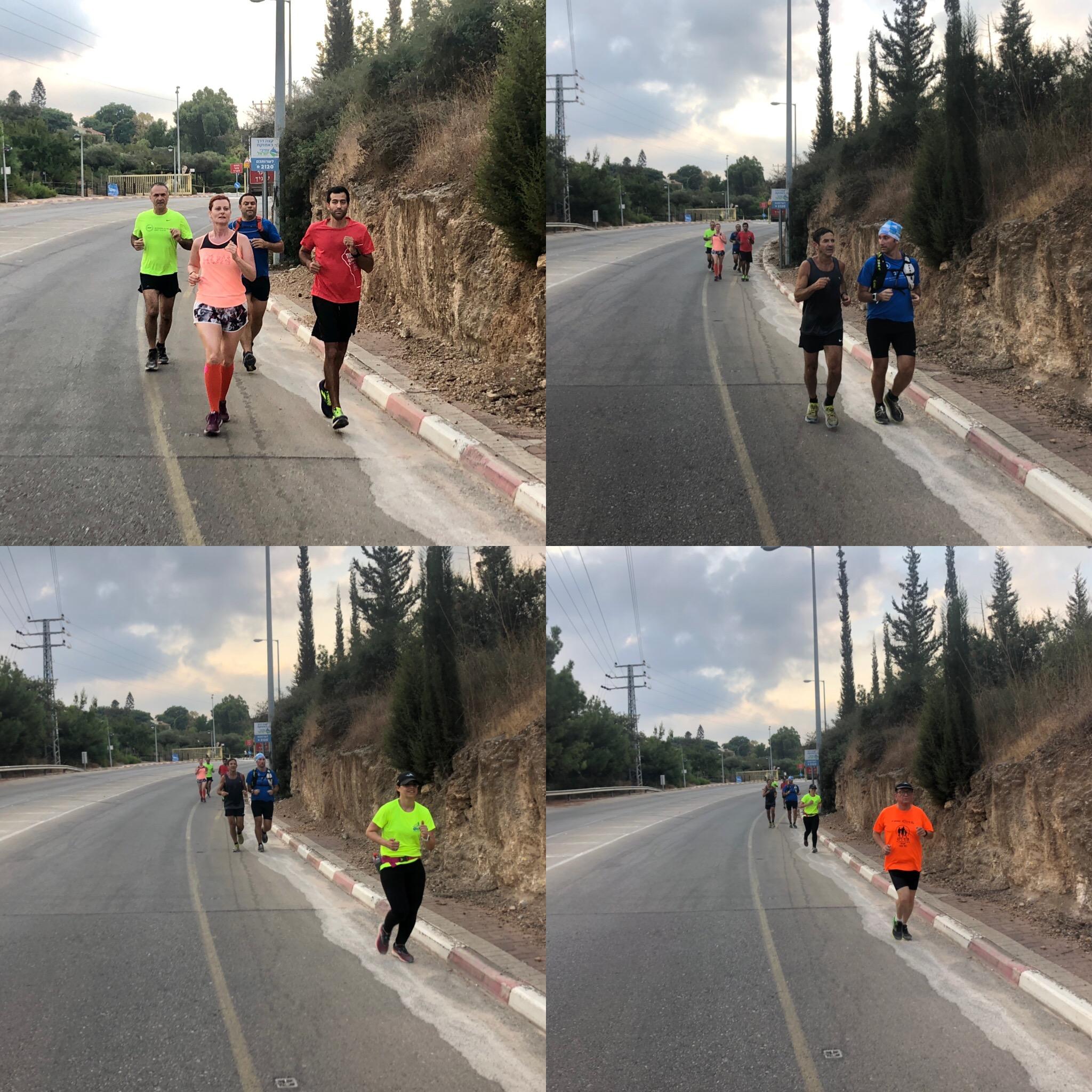 רצים עם אסף - ריצת שטח