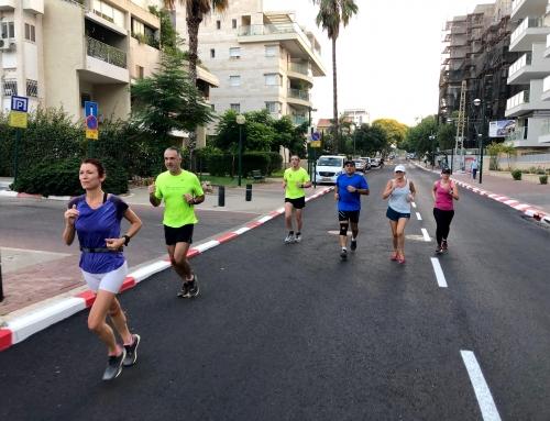 """ריצה בקבוצה – """"רצים עם אסף"""": כפר סבא והסביבה . . ."""
