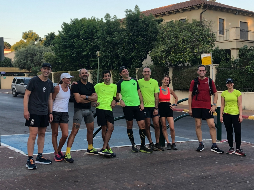 אימון ריצת בוקר - רצים עם אסף
