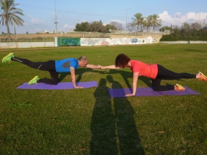 קבוצת ריצה: חיזוקים ויציבה
