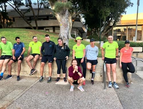 קבוצת ריצה מקסימה! ה – מגזין! 25 באוויררר