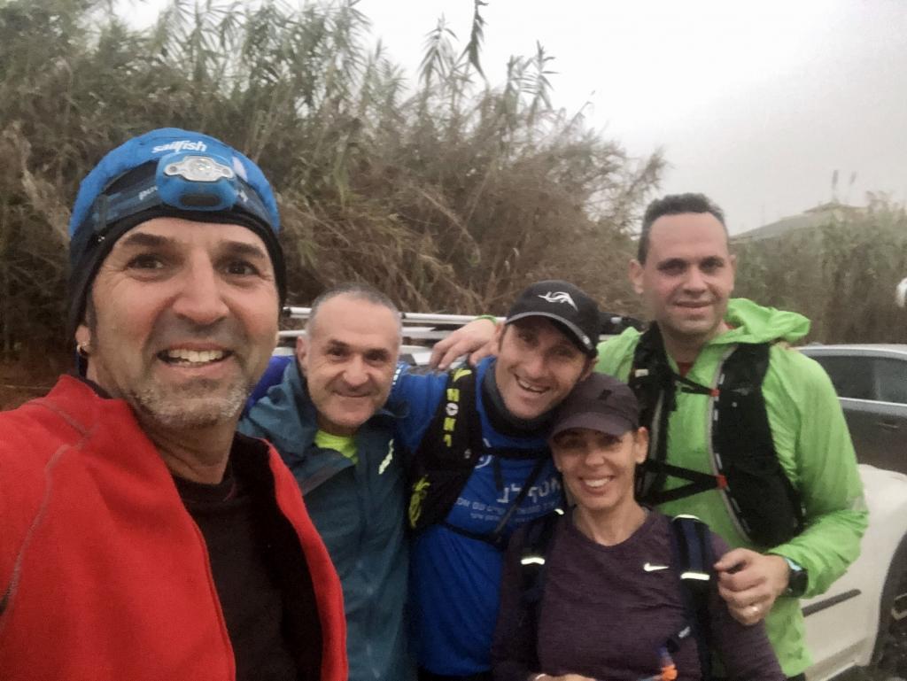 """אימון יום רביעי: """"רצים עם אסף""""- אימון - החלטת קשיחות - לבוא גם בסערות . . ."""