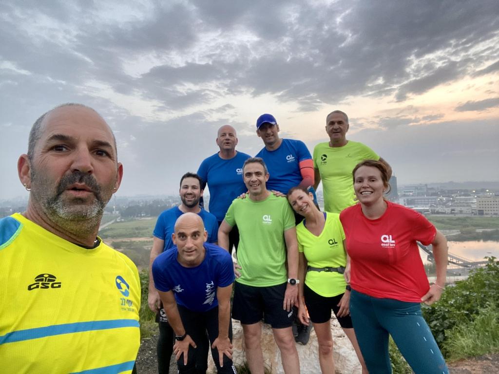 קבוצת ריצה כפר - סבא💛💙💙 תנועה וחברה = חברים!! שיא העוצמה הכוללת !!