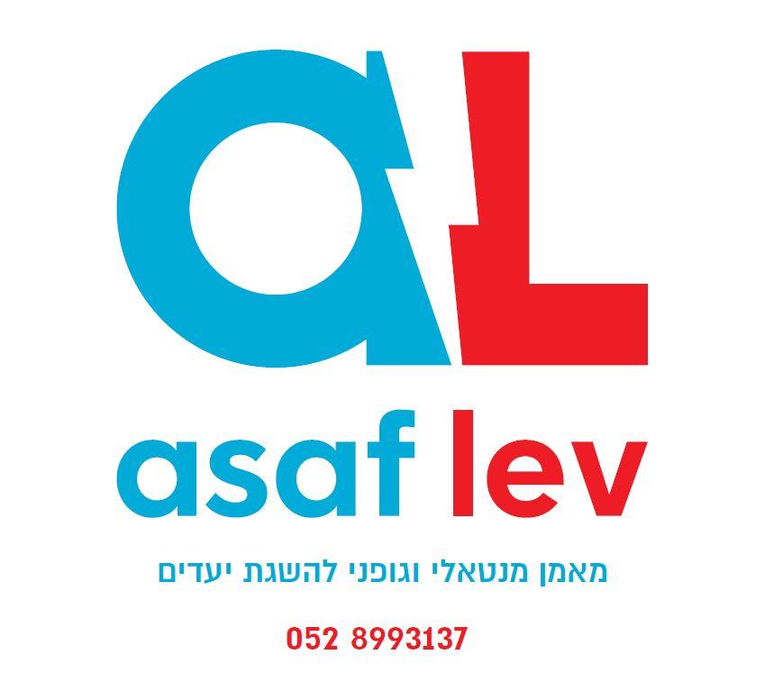 הלוגו שלי - asaf lev logo