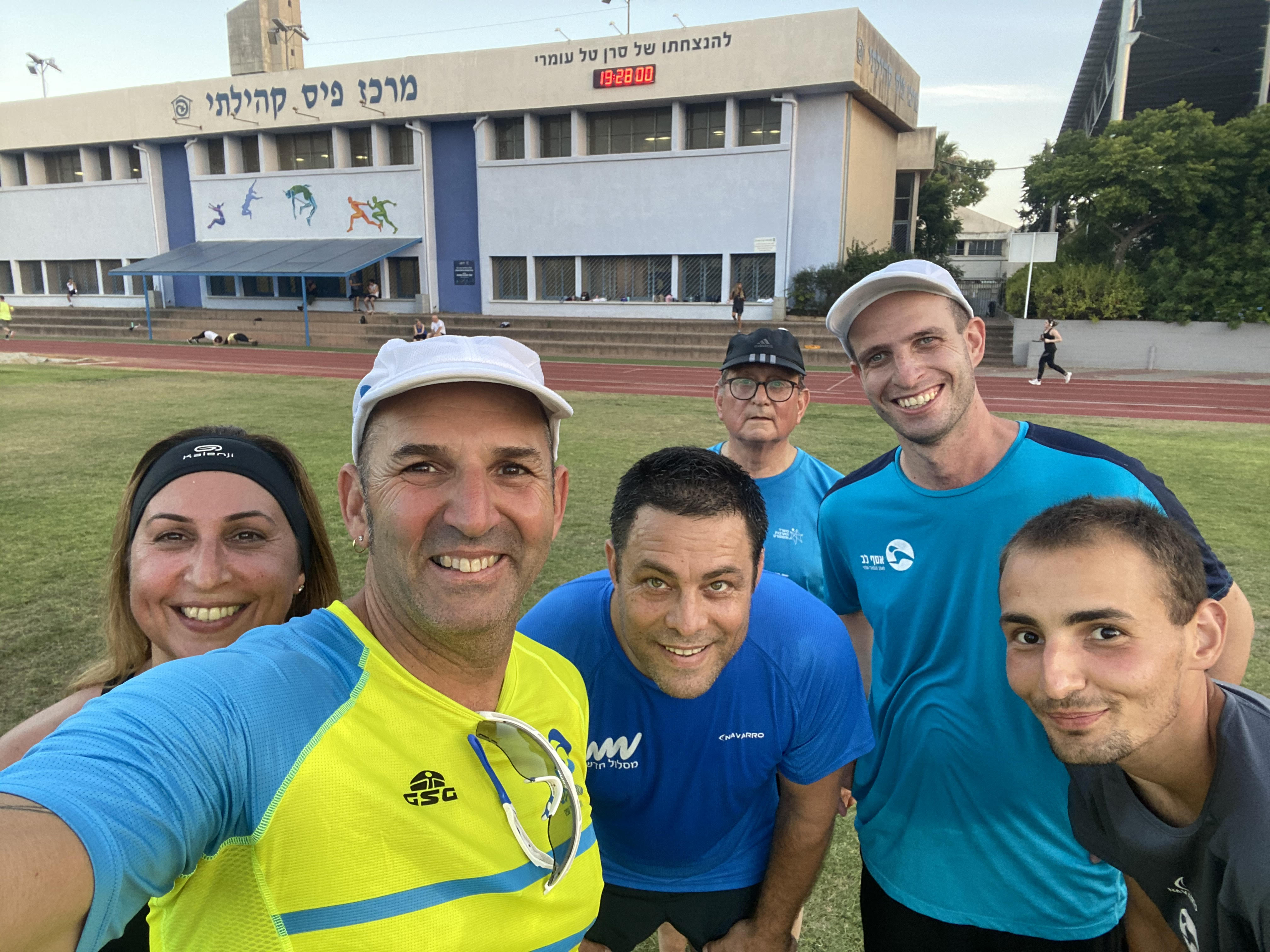 קבוצת ריצה בשרון - רצים עם אסף