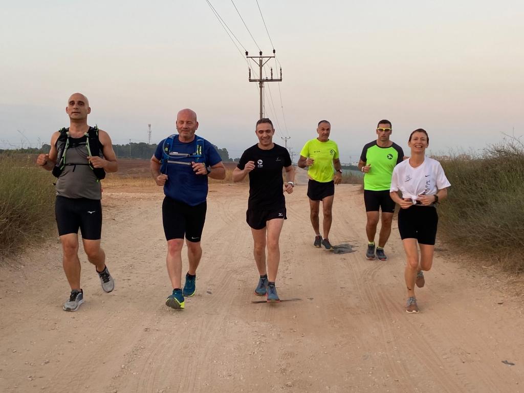קבוצת ריצה למתחילים בכפר - סבא